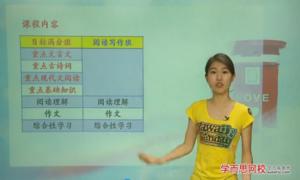 2014学年初一语文年卡目标满分班(人教版)